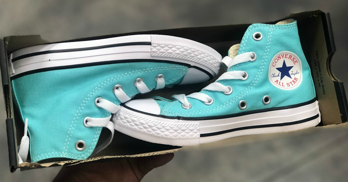 Converse Chuck Taylor All Star High Tops Only $24.98 Shipped (Regularly $60)