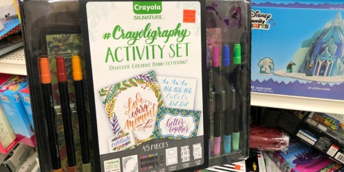 Crayola Signature Sets as Low as $9.97 at Michaels