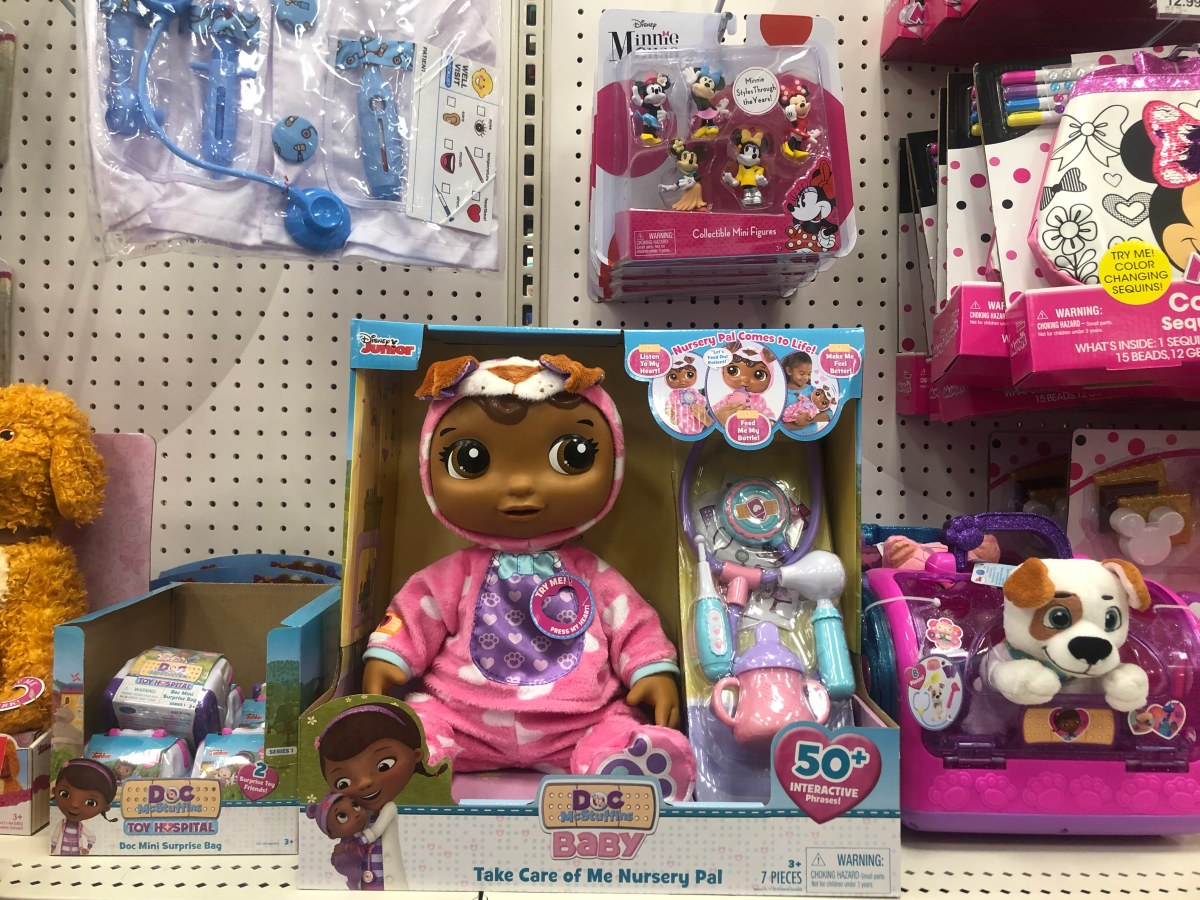 50 Off Doc Mcstuffins Baby Take Care Of Me Nursery Pal At
