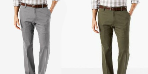 Dockers Men's Khaki Pants Only $14.99 (Regularly $50)