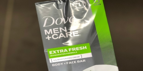 Amazon: 20 Dove Men+Care Body and Face Bars Only $13.55 Shipped (Just 68¢ Each)