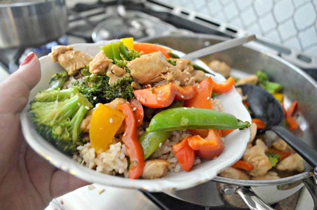easy weeknight stir-fry