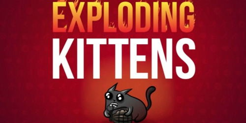 Exploding Kittens App Game Only 99¢ (Regularly $2) – Android and iTunes