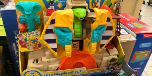 Fisher-Price Imaginext Serpent Strike Pyramid Just $17.99 at Kohl's (Regularly $40)
