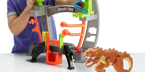 Amazon: Fisher-Price Imaginext Jurassic World Research Lab Only $14.58 Shipped (Regularly $31)
