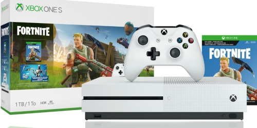 Xbox One S 1TB Fortnite Bundle Only $199 Shipped (Regularly $300) & More