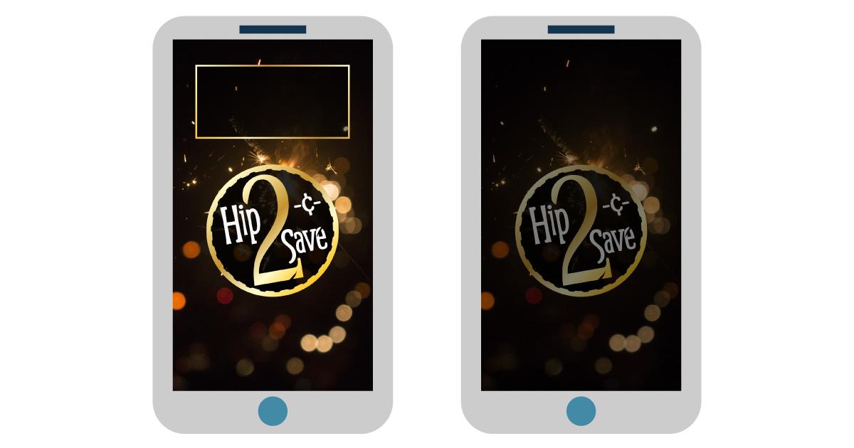 january digital wallpaper for smartphone