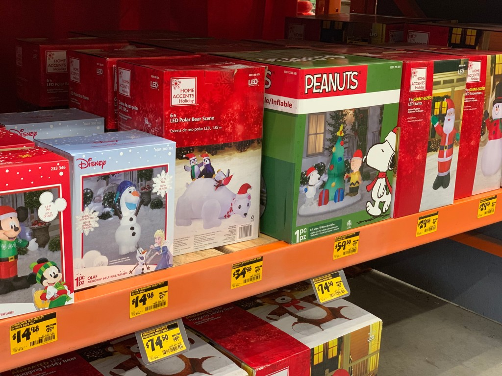 Up To 50% Off Christmas Clearance At Home Depot