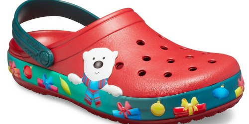 TWO Holiday Light-Up Crocs Only $35 Shipped (Only $17.50 Each) & More