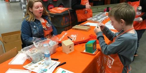 Register Now for Free Home Depot Kids Workshop to Build Birdhouse on April 6th