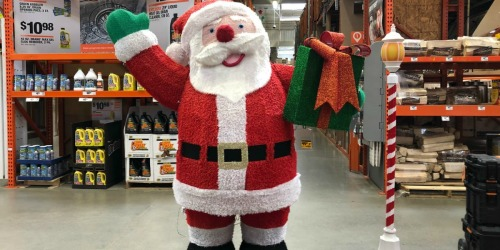 50% Off Holiday Decorations at Home Depot