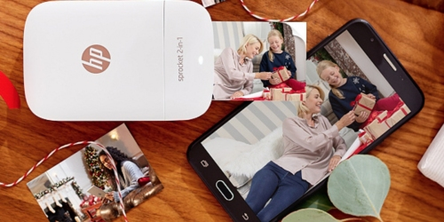 QVC: HP Sprocket Camera + Portable Printer as Low as $94.95 Shipped (Regularly $175+)