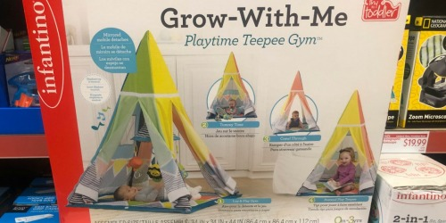 ALDI Shoppers: Grow-With-Me Teepee Gym Only $37.49 (Regularly $50+)