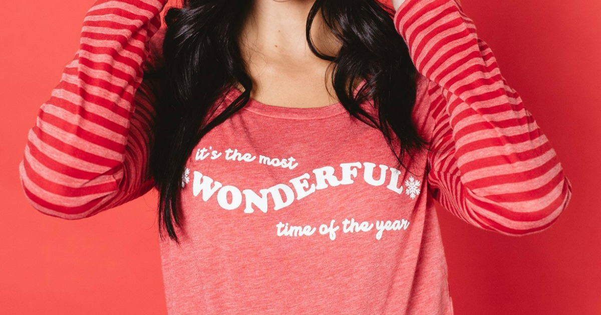 Women's Holiday Graphic Tees as Low as $12.95 Shipped (Regularly $28) + More
