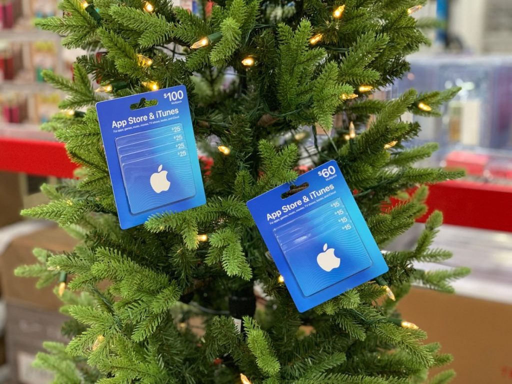 itunes gift cards sams