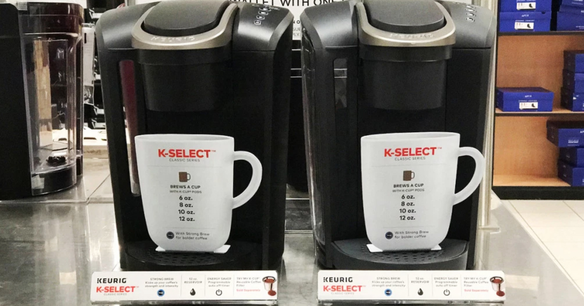 Keurig K Select Coffee Maker As Low As 69 99 Shipped