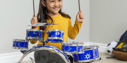 Kids 11-Piece Drum Set Only $24.99 Shipped (Regularly $67)