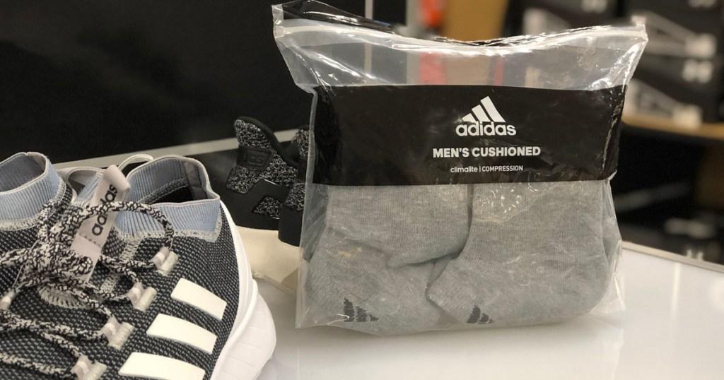 men's adidas socks package