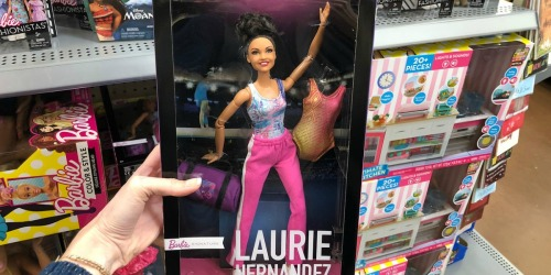 Laurie Hernandez Gymnast Barbie Doll Only $13.88 (Regularly $30) at Walmart