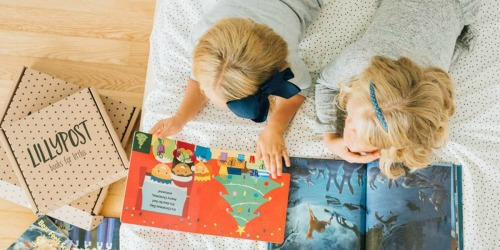 Lillypost Kids Books Subscription Box (Fun Gift Idea for Little Readers)