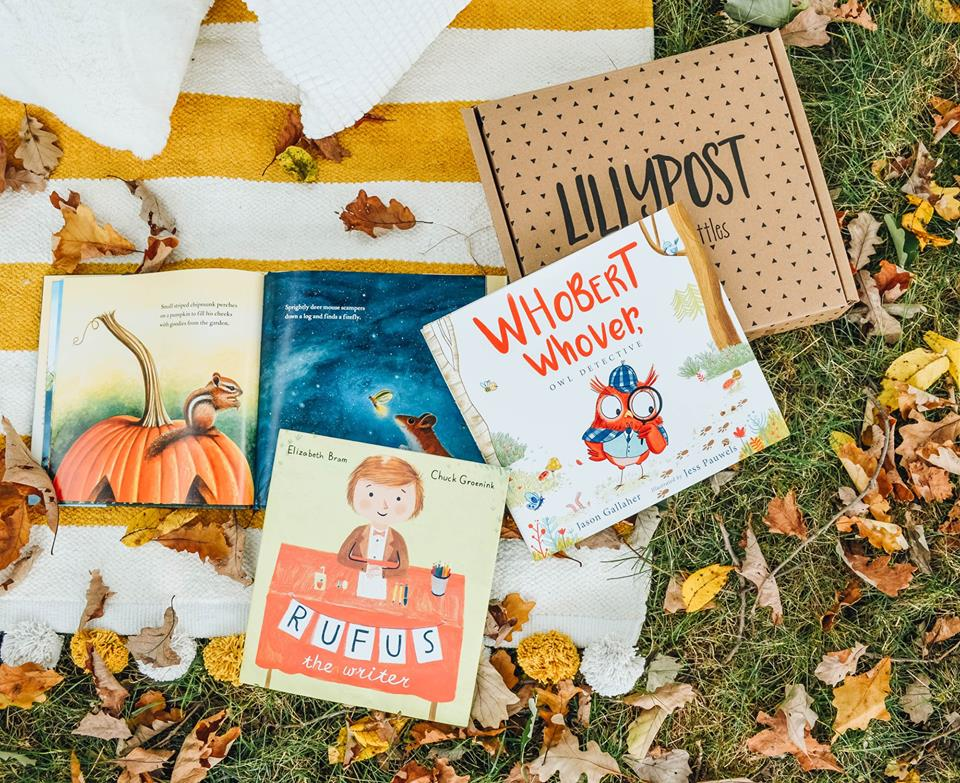 lillypost kids books subscription box promo code deal – book ideas that come with a Lillypost shipment