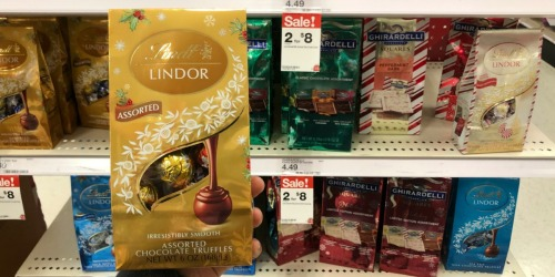 New $1/1 Lindt Coupon = LINDOR Truffle Bags Just $3 at Target + More