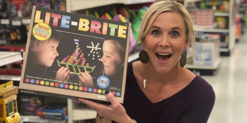 The Lite-Brite Ultimate Classic Toy Will Light Up Your Christmas Morning!