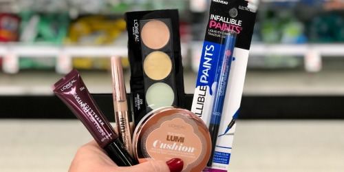 Over 75% Off L'Oreal Cosmetics at Target After Ibotta