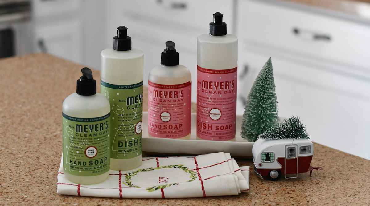 ultimate gift guide ideas under 25 — mrs. meyer's holiday soaps