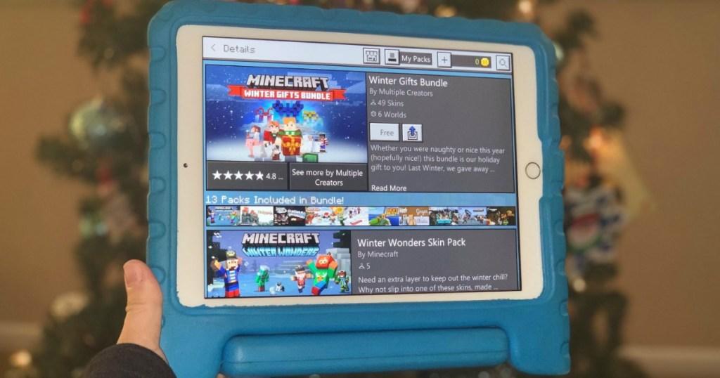 FREE Minecraft Catastrophic Pandamonium World + Winter Gifts Bundle