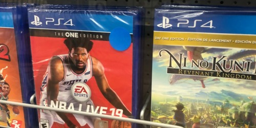 Up to 50% Off Video Games at GameStop (NBA Live 19, Battlefield V & More)