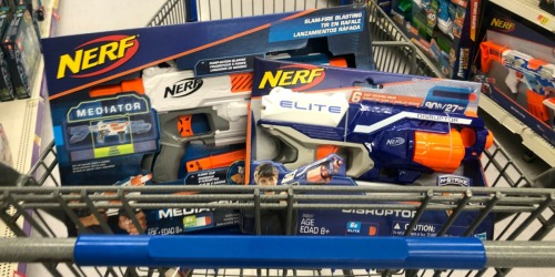 Possible $10 off $20 NERF Purchase Coupon = Up to 50% Off at Walmart