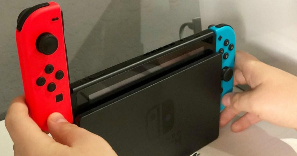 Joy-Con Controllers on Nintendo Switch