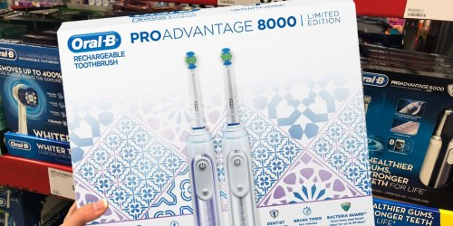 Sam's Club: TWO Oral-B Pro Advantage 8000 Rechargeable Toothbrushes Only $129.99 ($70 Off)