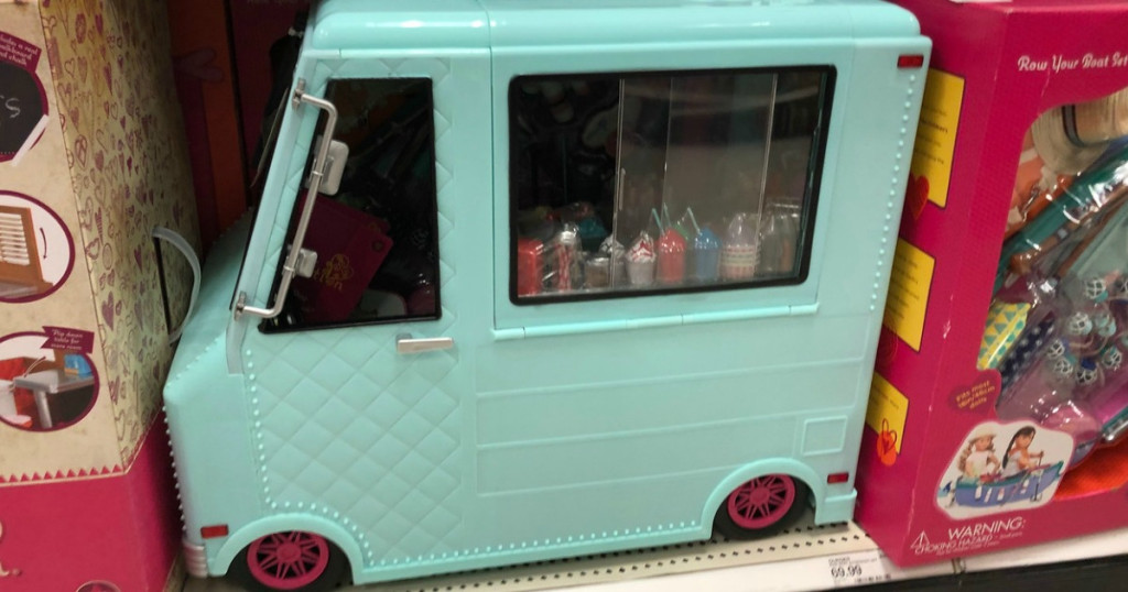ice cream truck at Target