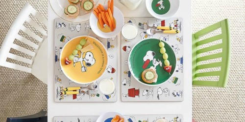 Peanuts Thanksgiving Bowls Only $1.99 Shipped + More at Pottery Barn Kids