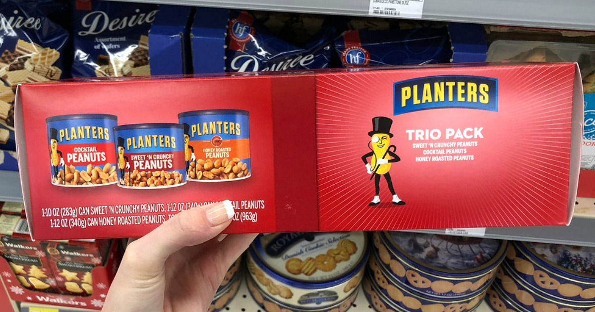 Planters Holiday Nut Trio Possibly Just $5.99 at Walgreens (Only $1.99 Per Can) + More