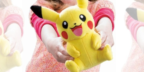 Best Buy: Pokémon Plush Figures Only $6.37 Shipped (Regularly $13) & More