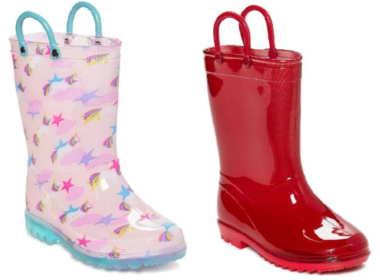 a6ea34233d513 Cute Rain Boots as Low as  9.99 (Regularly  22+) at Zulily - Hip2Save