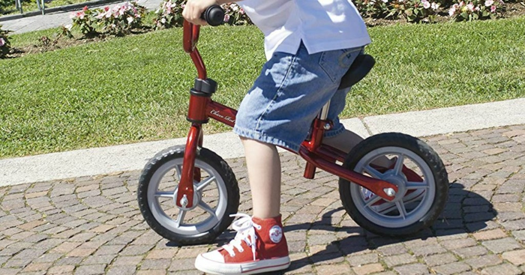 faa44827286 Hop on over to Chicco.com where you can score this Red Bullet Balance Bike  for just $19.99 (regularly $49.99) after the $30 automatic discount at  checkout!