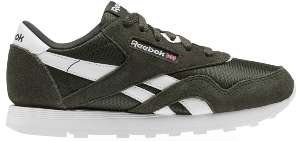 b4c36d9de6541 Reebok Kids Classics Nylon Grade School Sneakers  44.97 (regularly  50) Use  promo code CLASSIC40 (save 40%) Shipping is FREE when logged into your  Reebok ...
