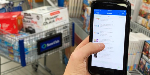 Shopping at Sam's Club Has Never Been Easier (We're Big Fans of Scan & Go!)