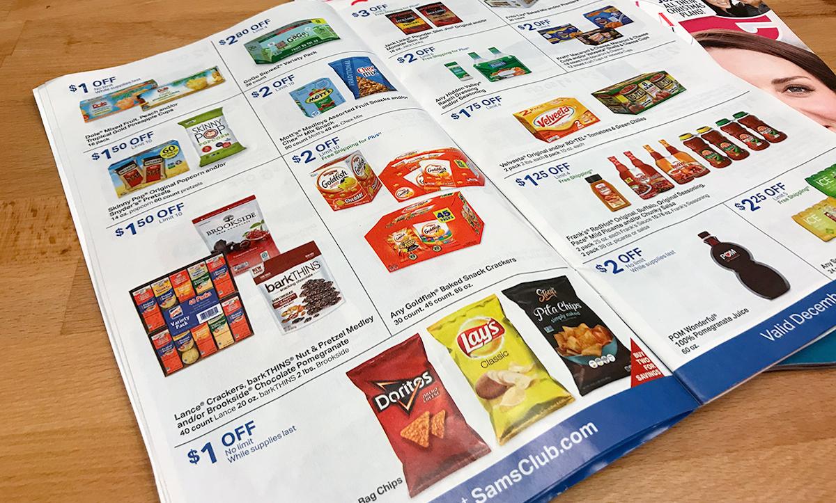 sams club instant savings book coupons