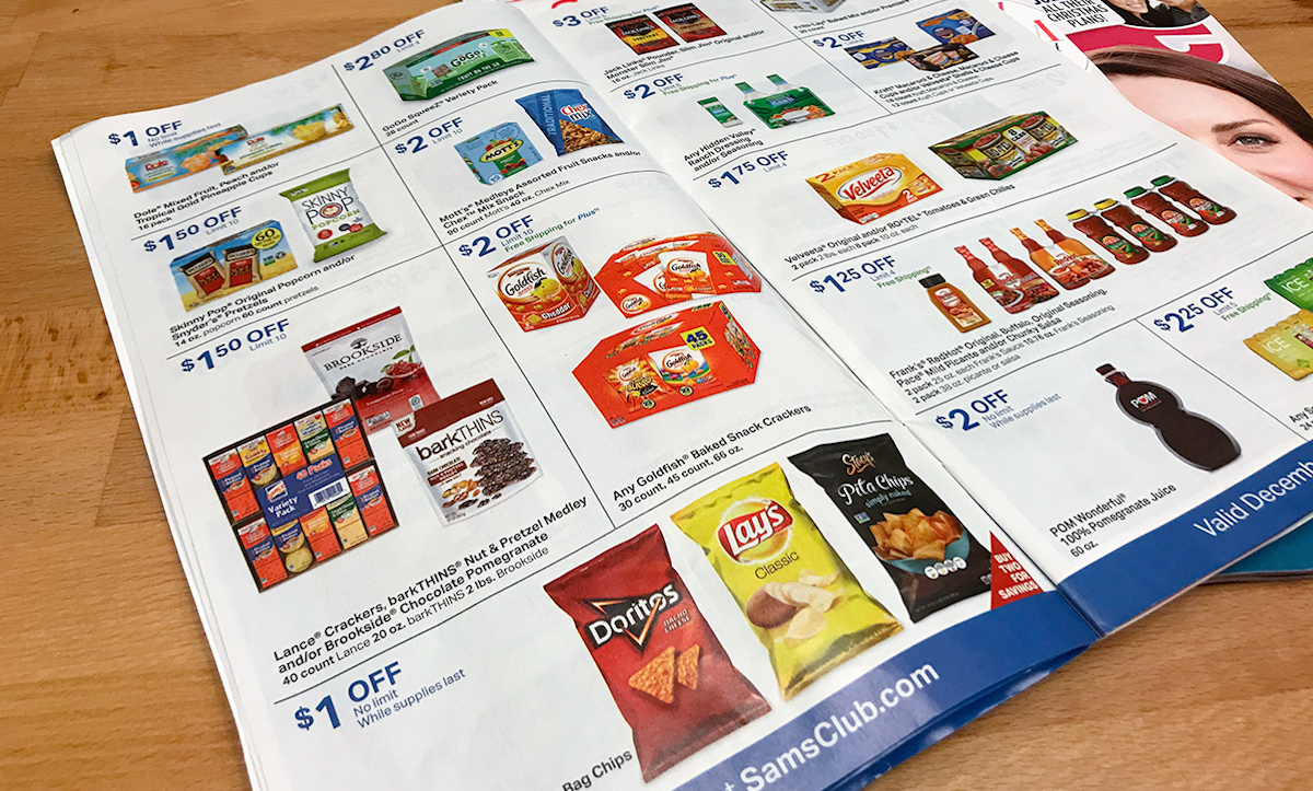 sams club instant savings book coupons