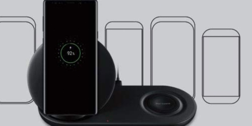 Amazon: Samsung Wireless Charger Duo Fast Charge Stand & Pad Only $49.99 Shipped (Regularly $120)