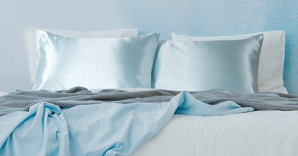 Amazon Bedsure Satin Pillowcases 2 Piece Set As Low As 7