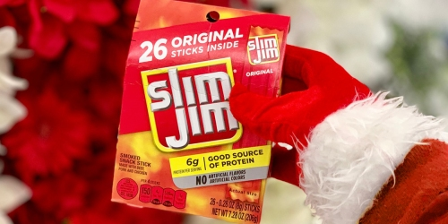 Slim Jim Snack Sticks Only 19¢ Each at Walmart + 15 Win Prize Package ($235 Value!)