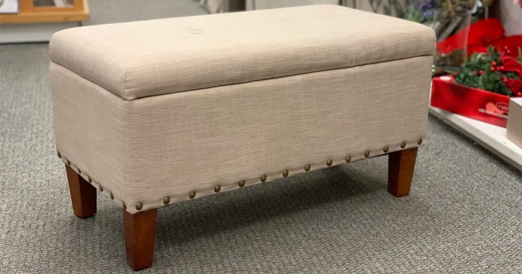 sonoma madison storage bench as low as
