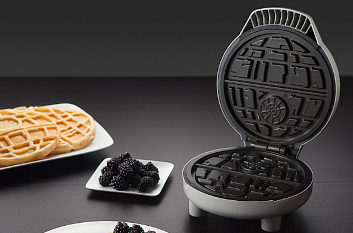 White Elephant Gifts, Gag Gifts, Funny Gift Ideas – star wars death star waffle maker