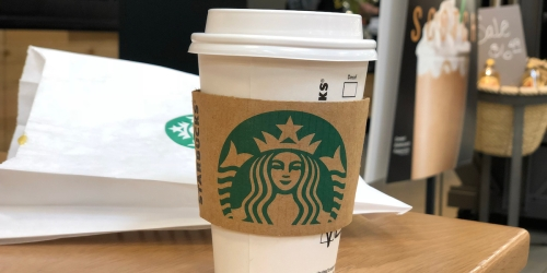 50% Off Starbucks Handcrafted Espresso Drinks Today Only (+ Try New Cherry Mocha Drink!)